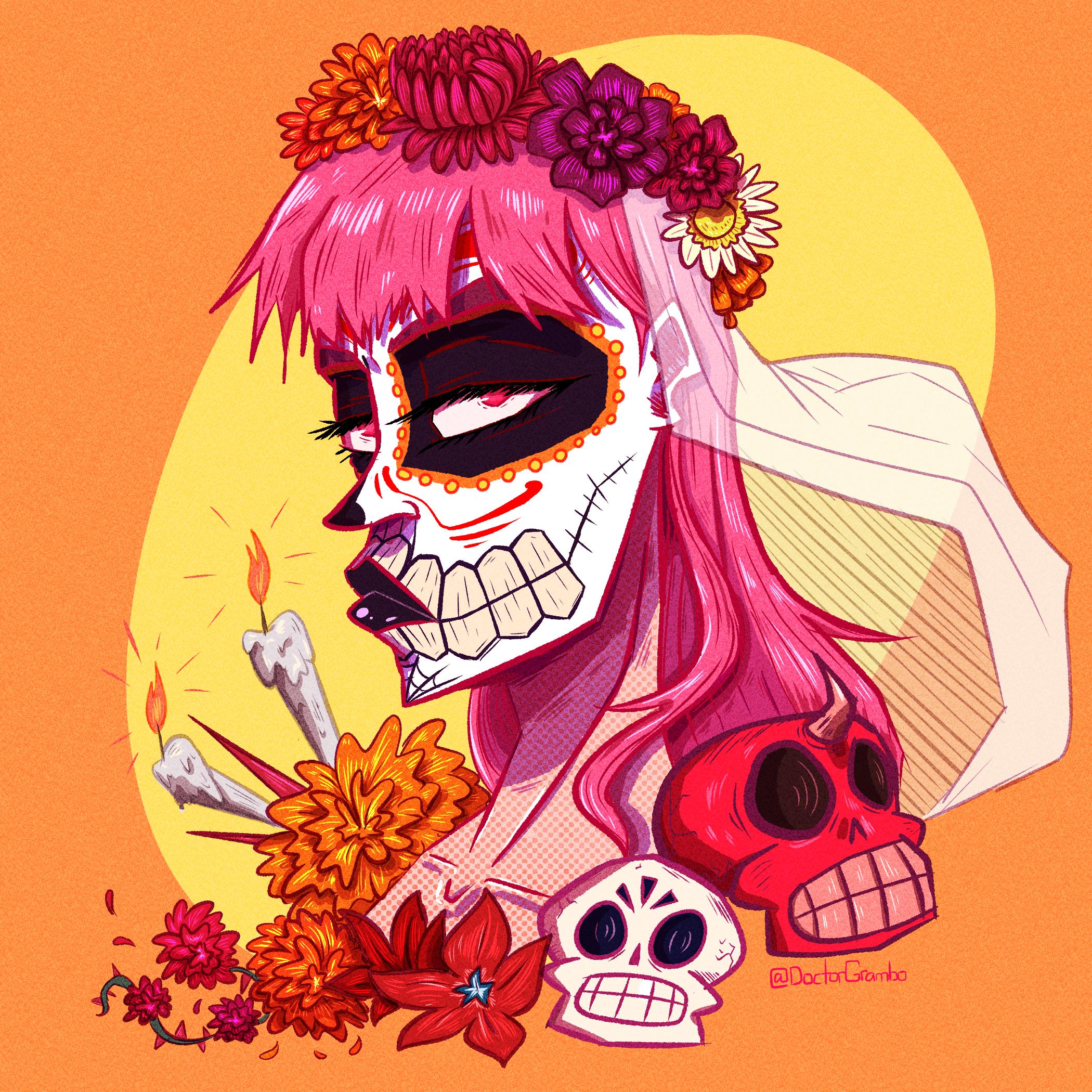 Dia de los Muertos Calliope