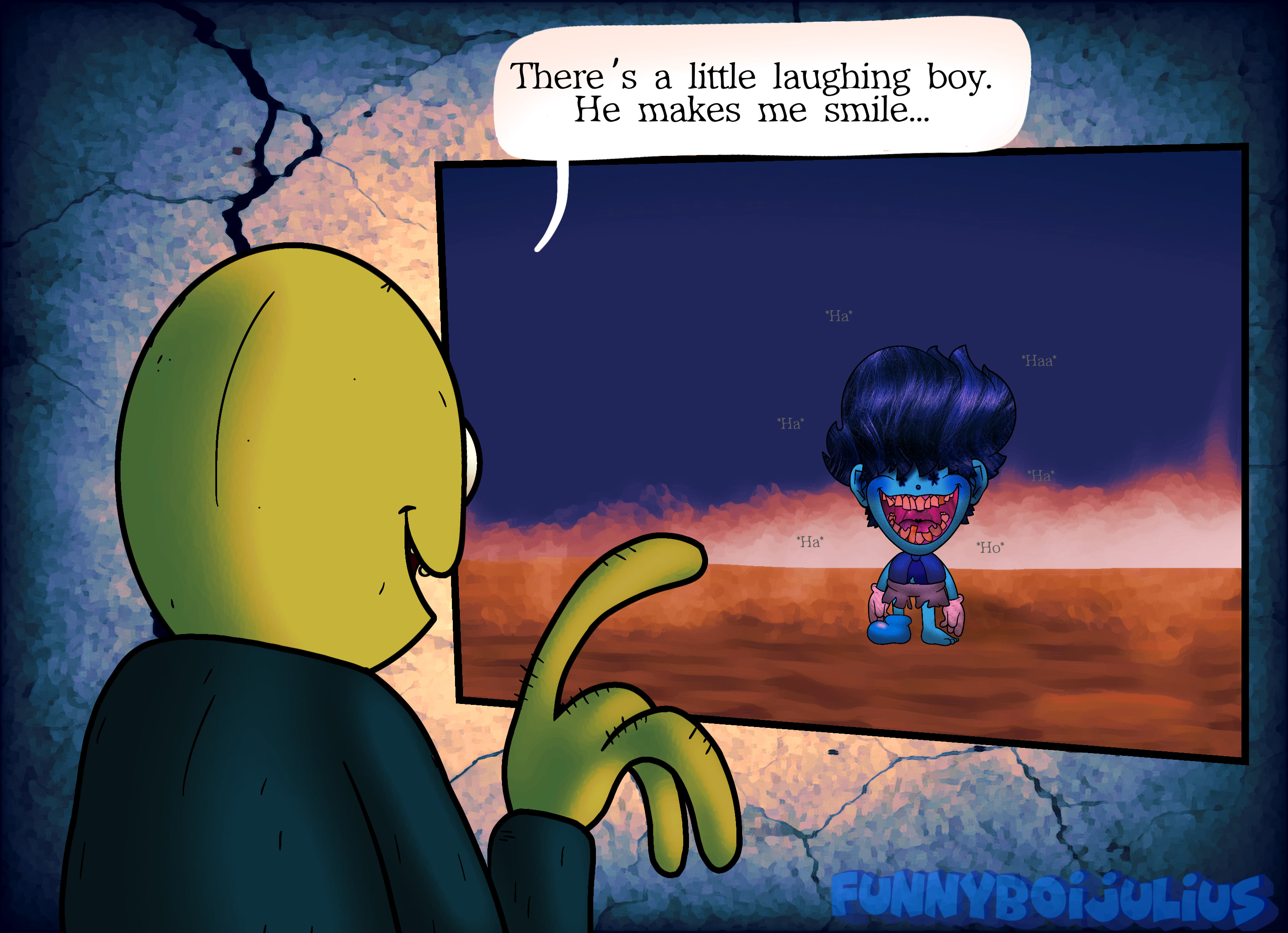 Salad Fingers 12: The Laughing Boy