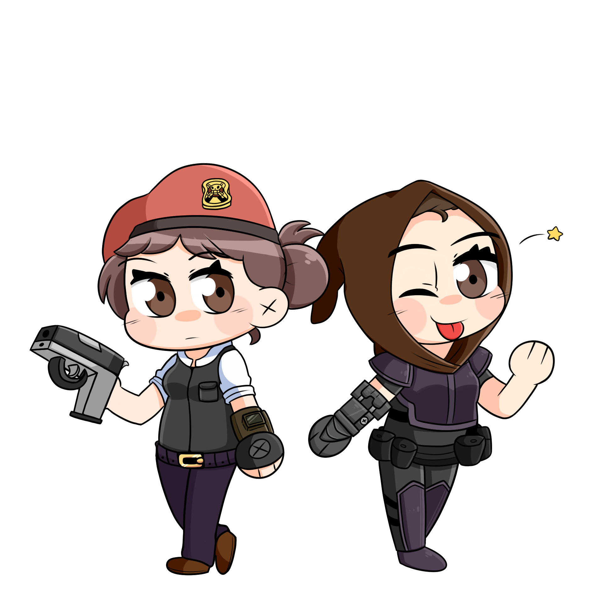 Courier & Veronica