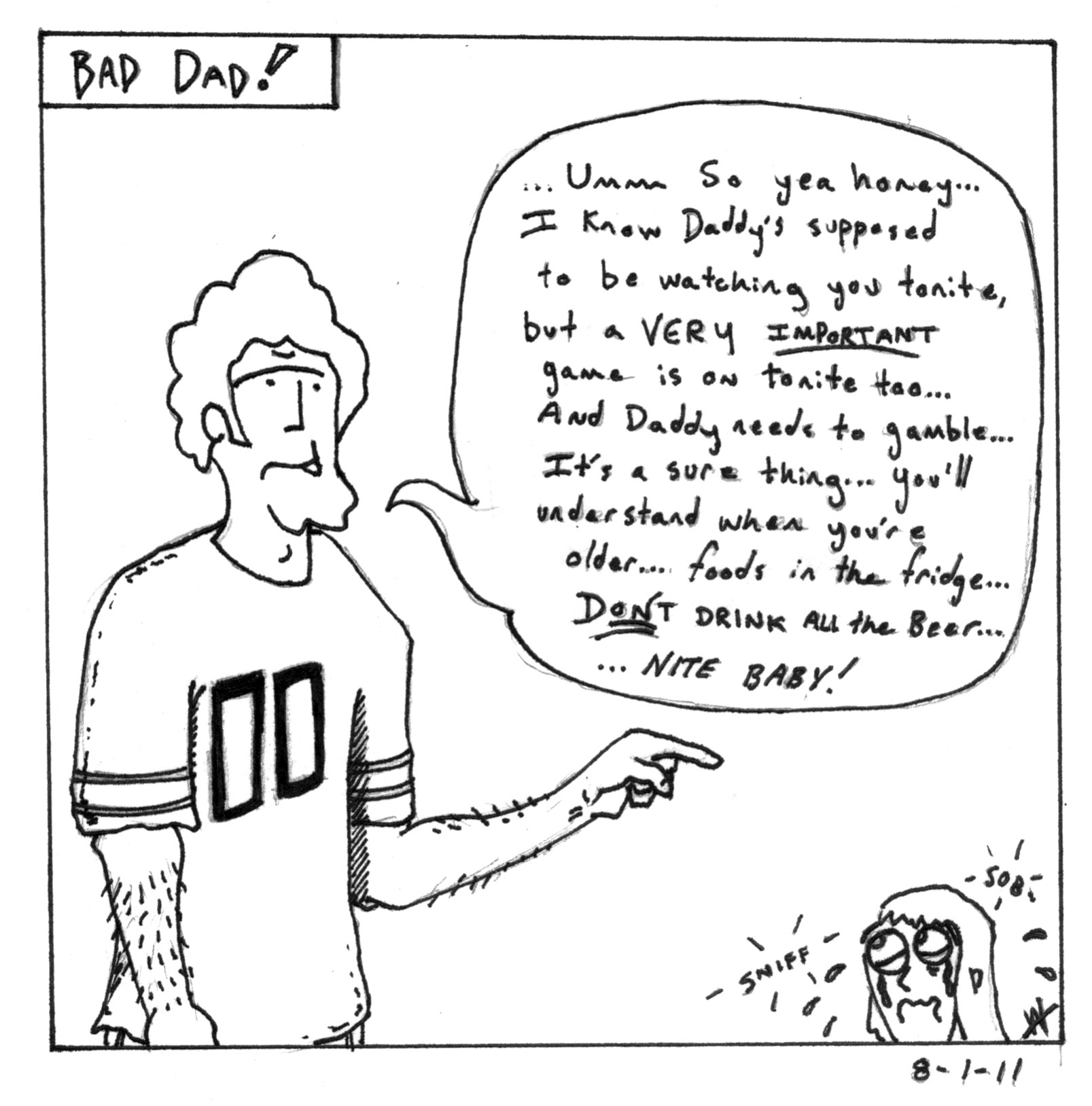 Bad Dad - Gamble