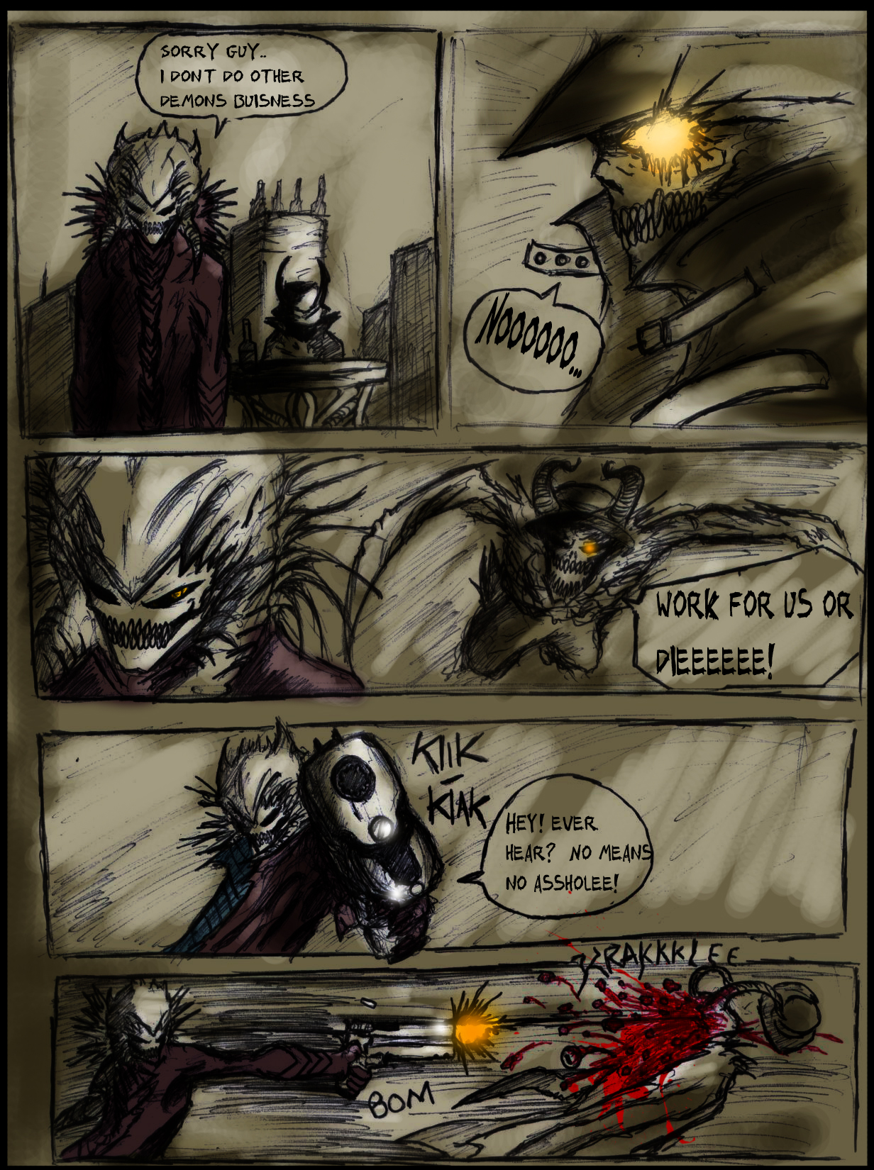 Lethally Evil Page 7