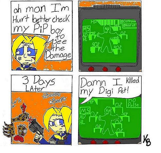 Pipboy problems