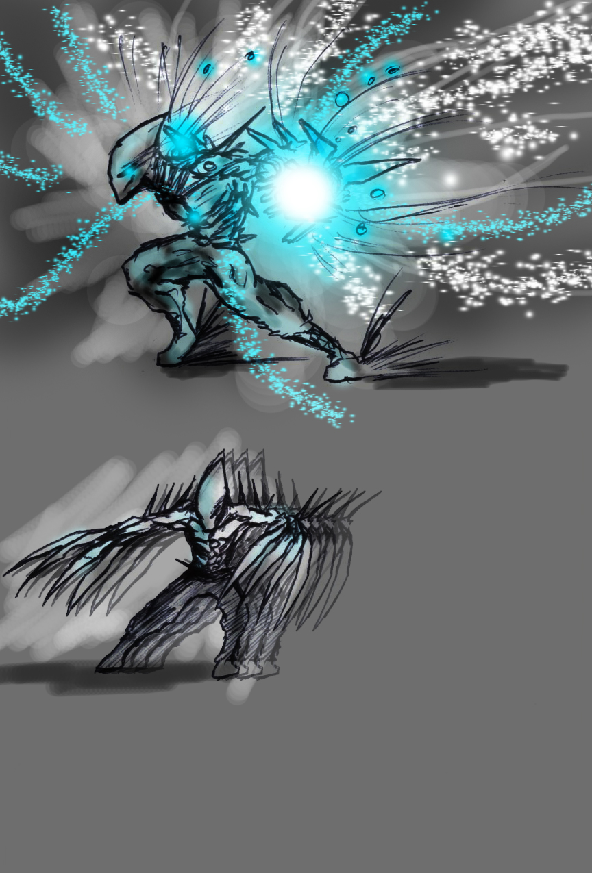 Spiken's New powers