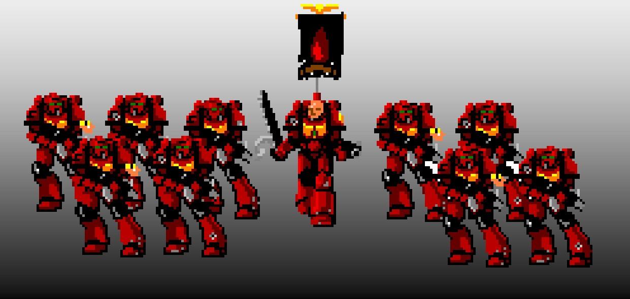 Space Marine Squad
