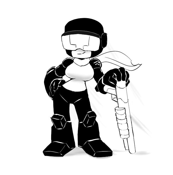 Tank-girl sketch