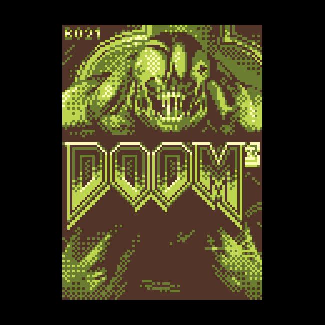 Rawr it's Doom 3 on Gameboy!