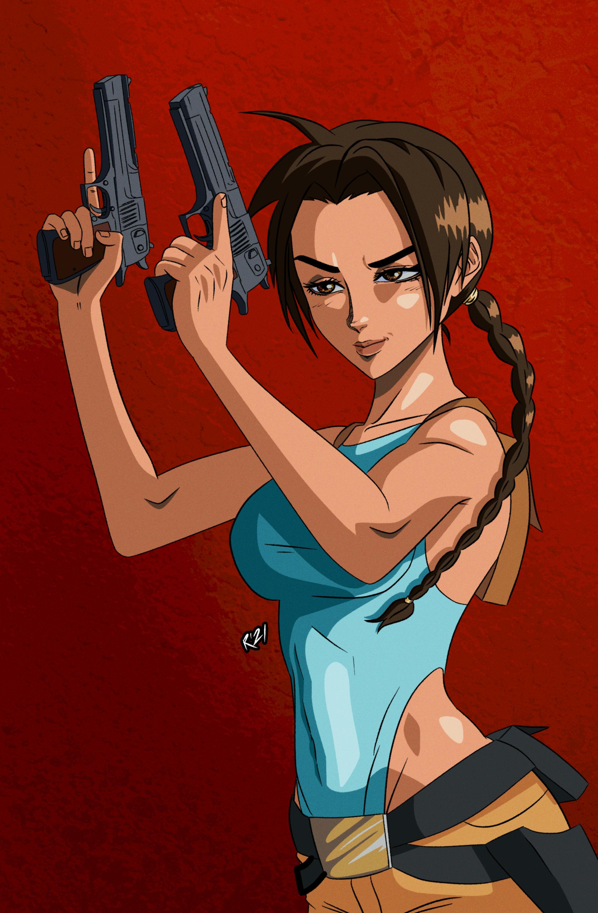 Anime Lara Croft