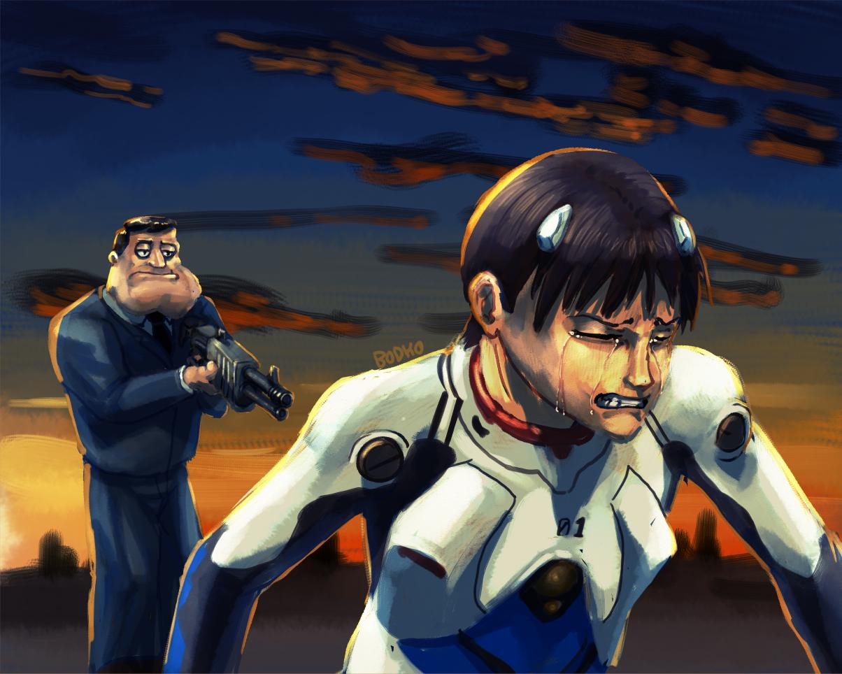 Stan Finishes Shinji