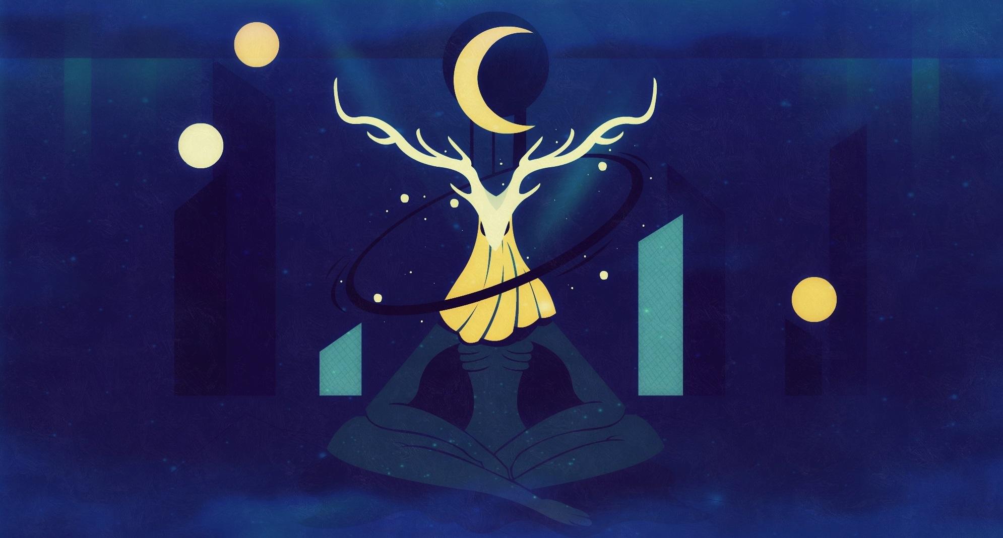 The dark branch of the mind's night