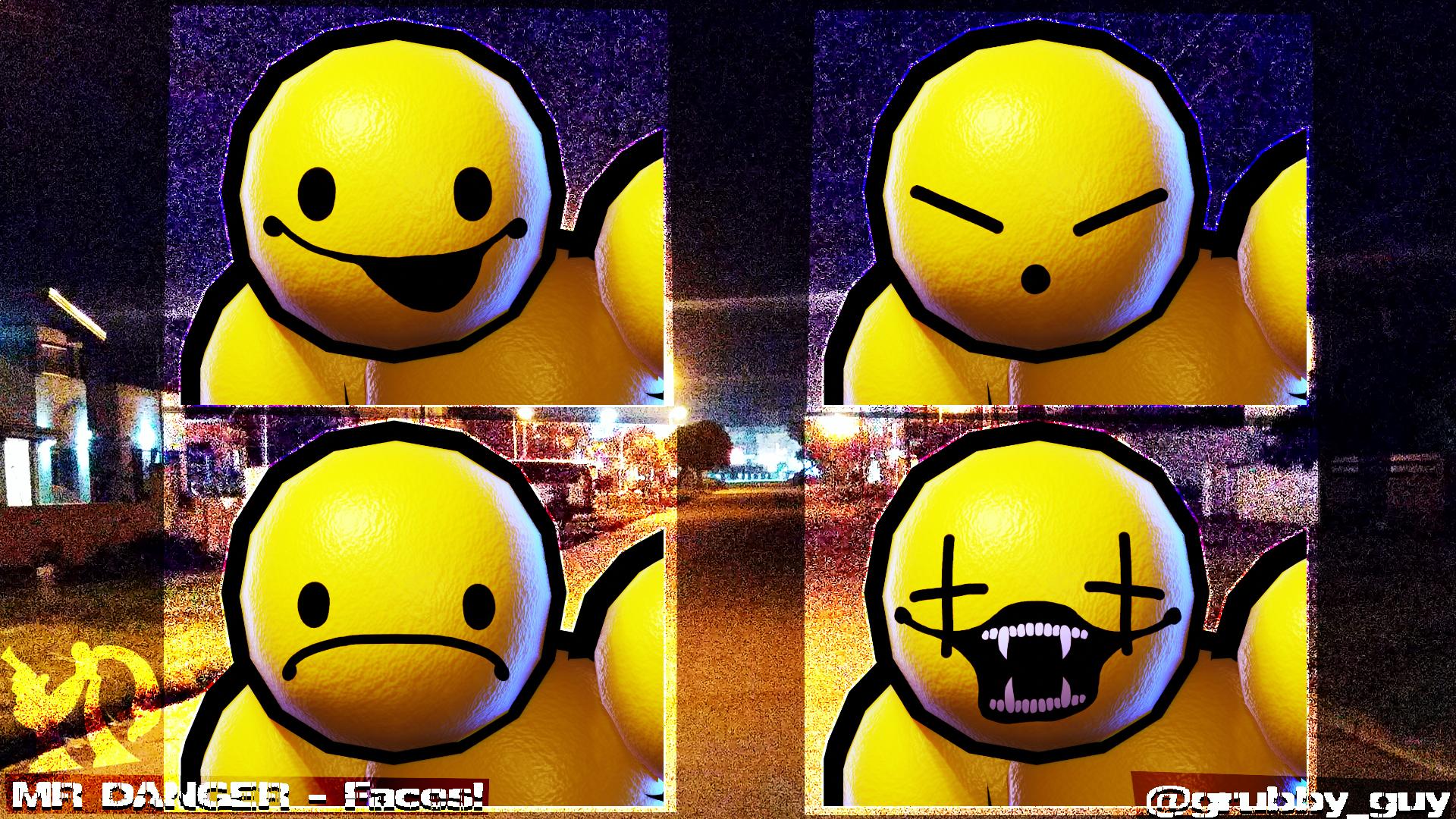 MR DANGER - 3D FACES!