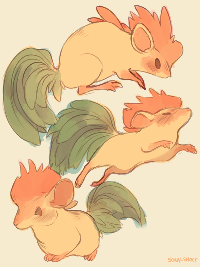 Rooster Mouse