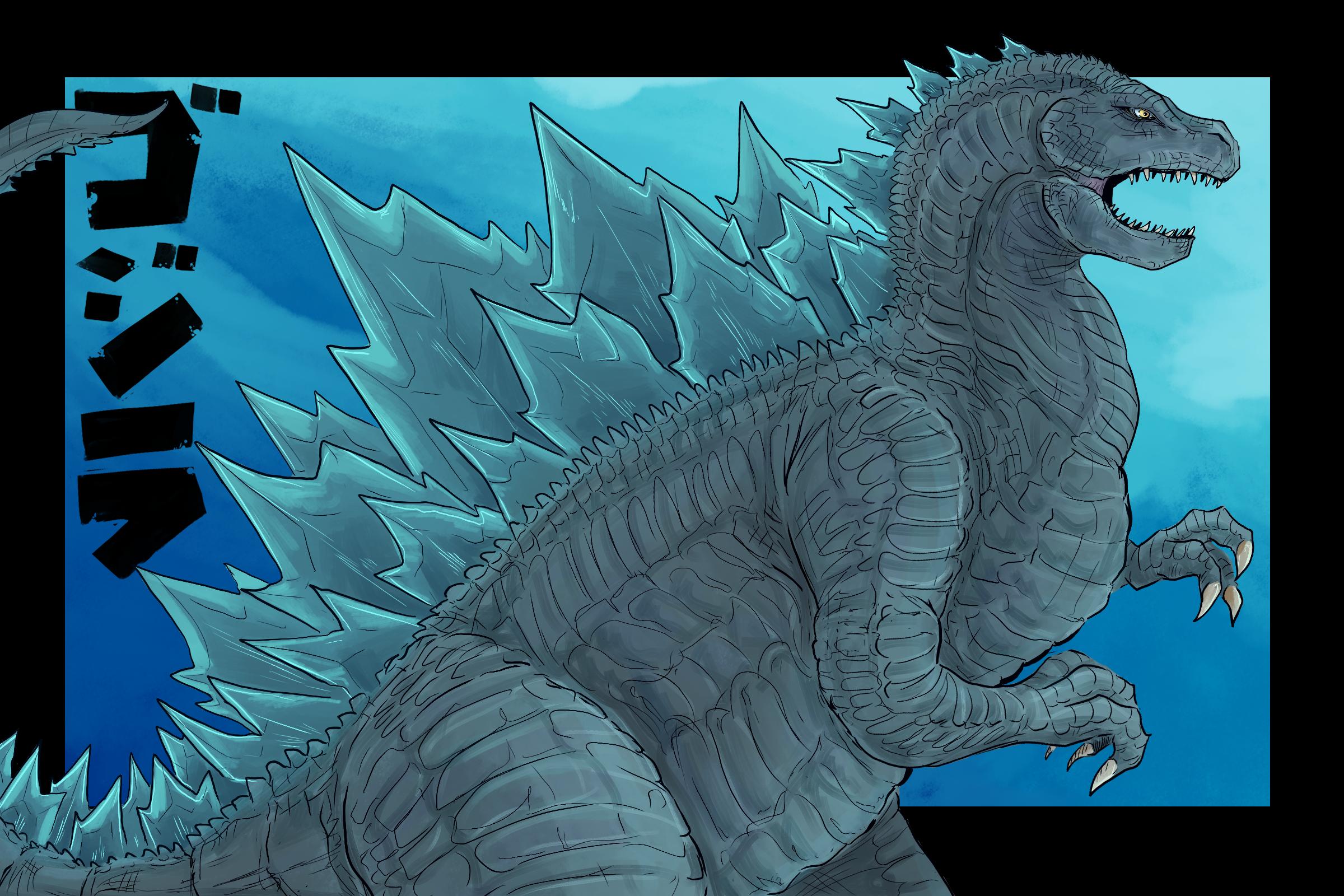 Nuclear beast from the ocean beneath