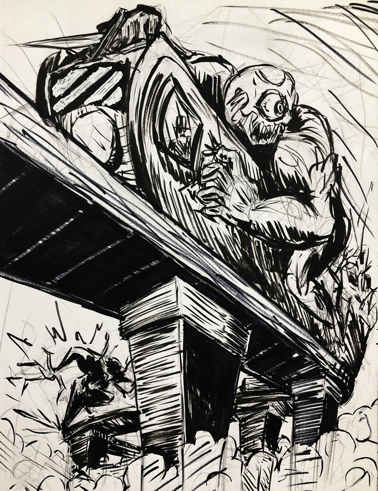 Monster on the Run
