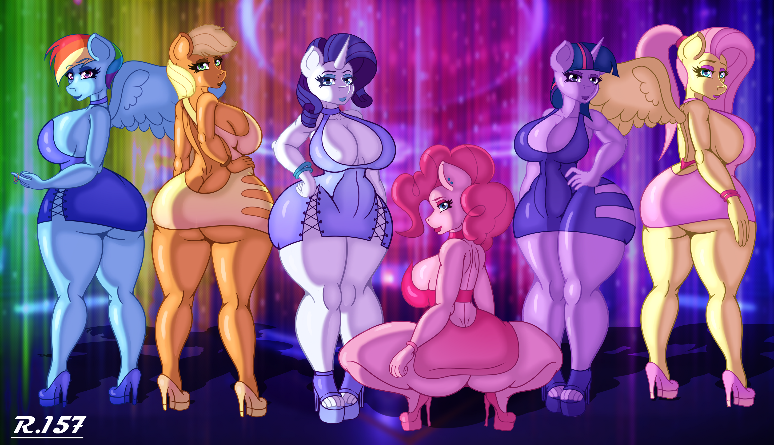 [Commission] Girls Night Out