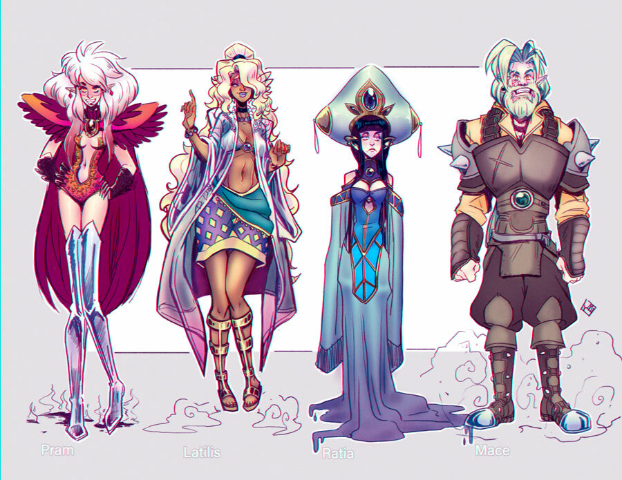 OC:Dragon Avatars.