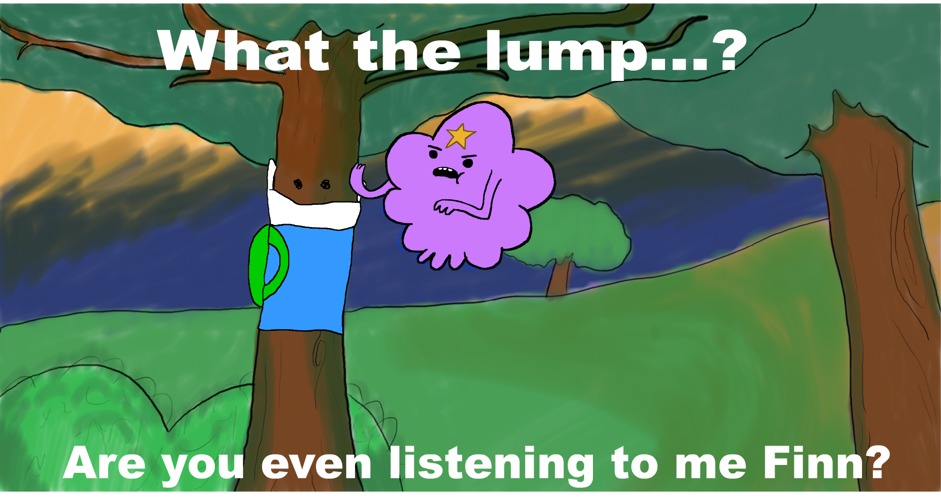 What the Lump...?