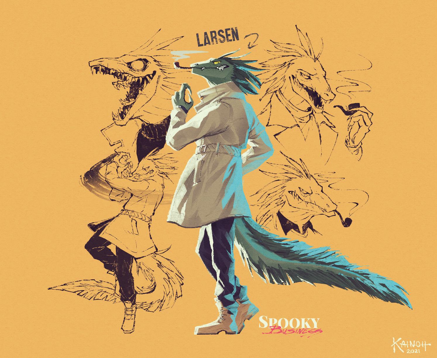 Spooky Business - Larsen