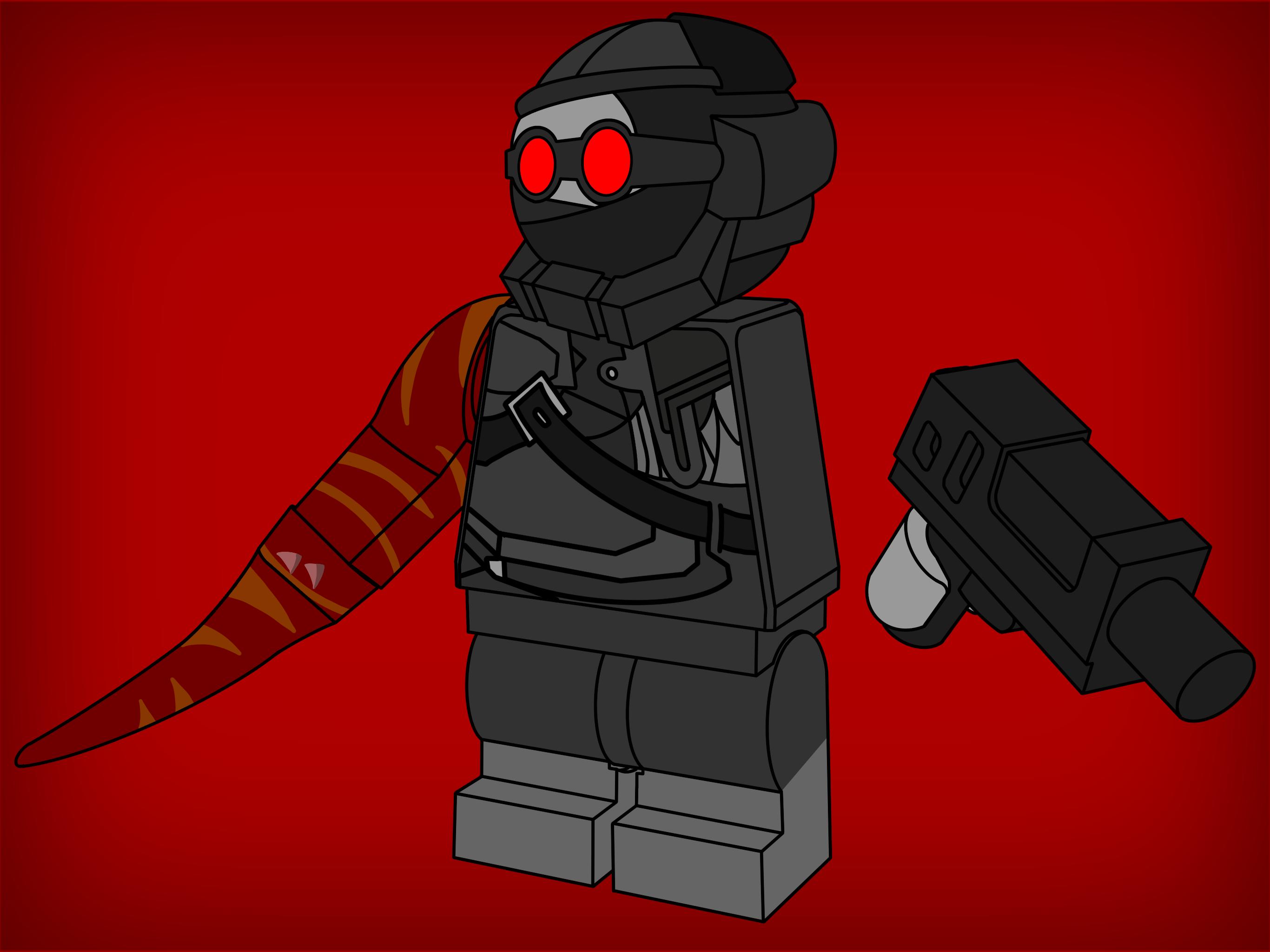 HAAAAAAAANK! in Lego!