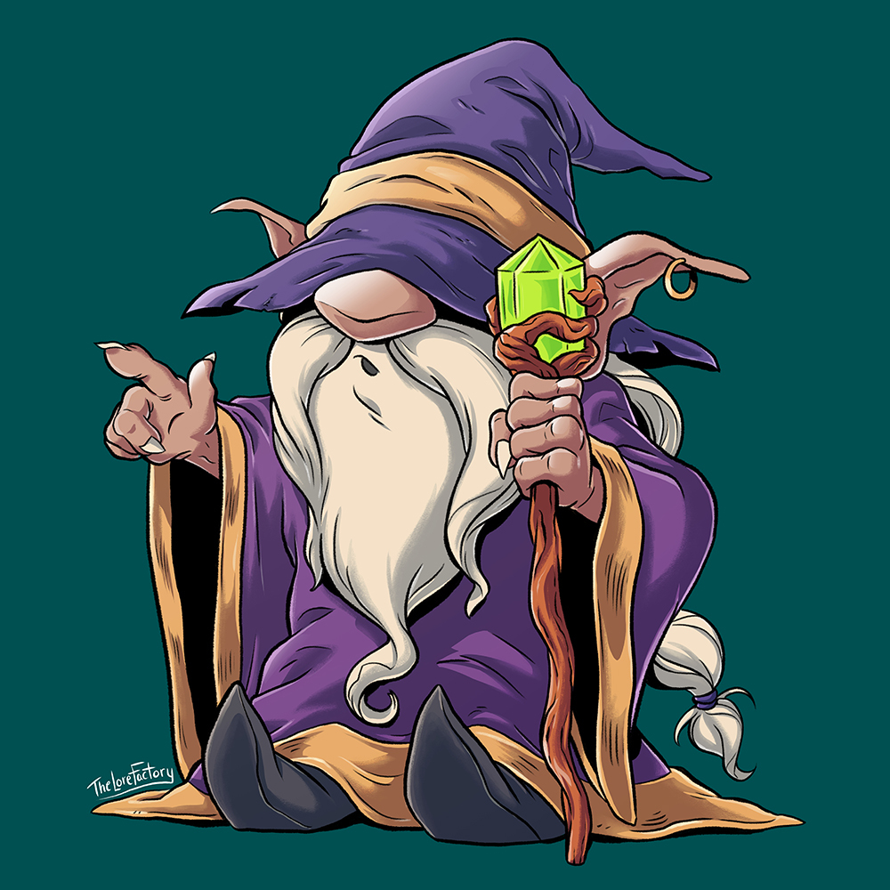 Mud Puddles the Gnome Wizard