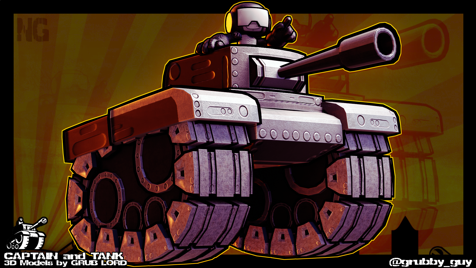 CAPTAIN and TANK - 3D
