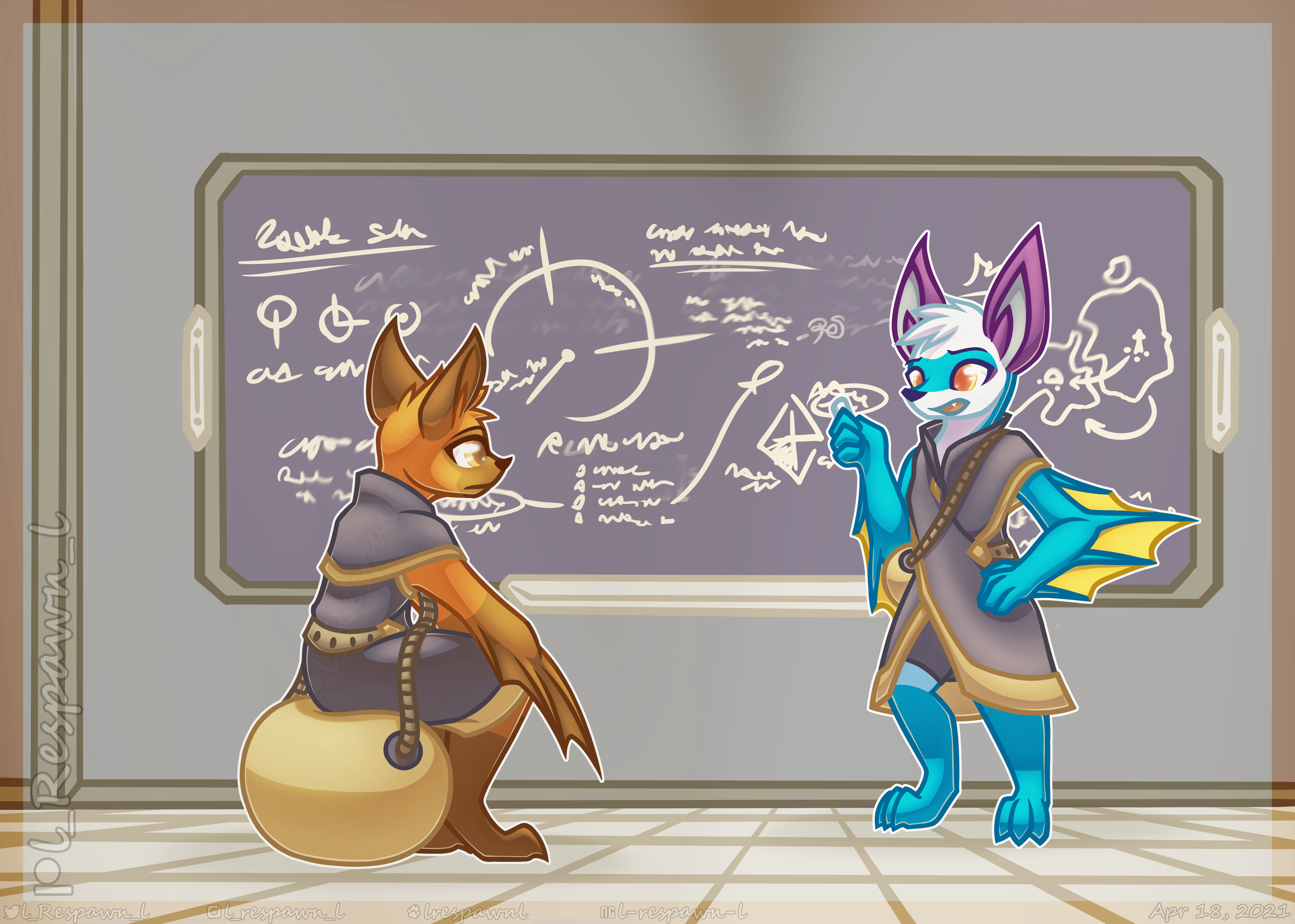 Snacks Shreckles Classroom [Commission]
