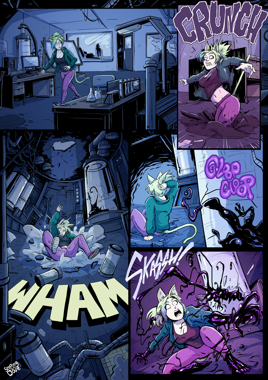 Symbiote Catgirl P1