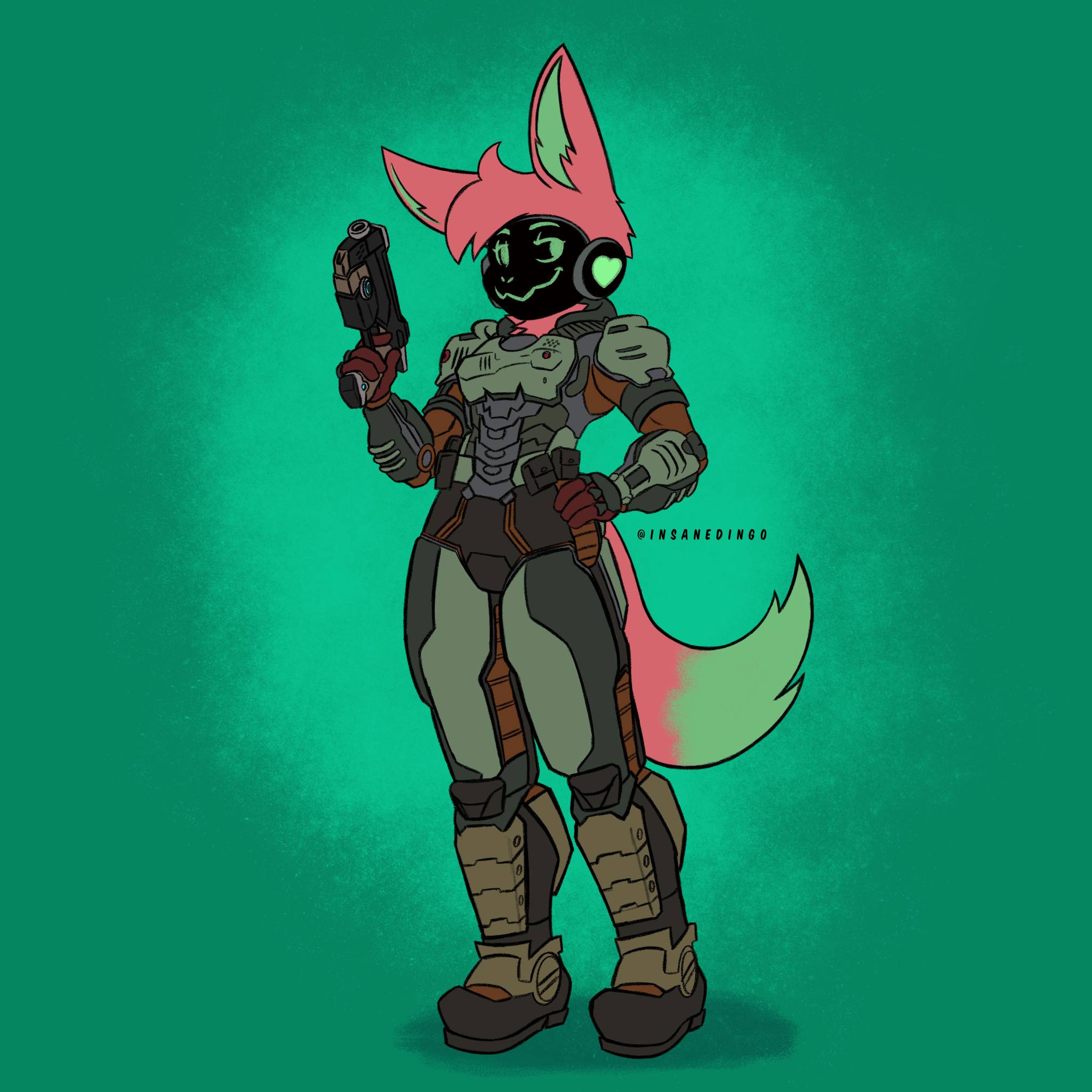 Furry Doom Suit [Commission]