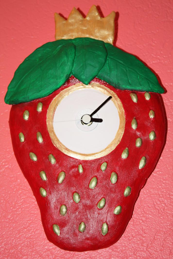 StrawberryClock Clock