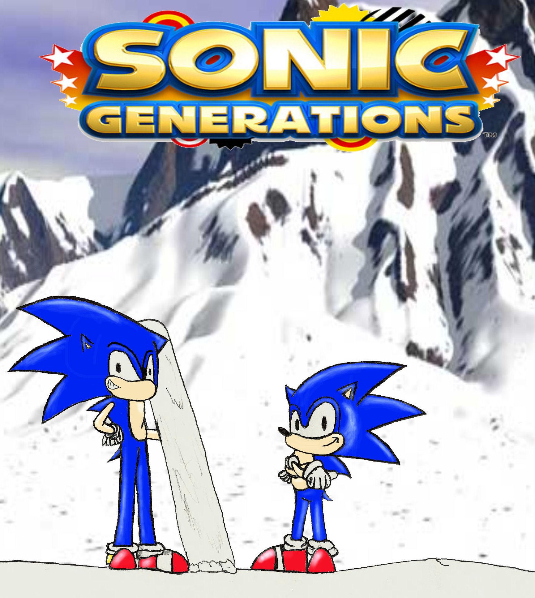 sonic generations tribute