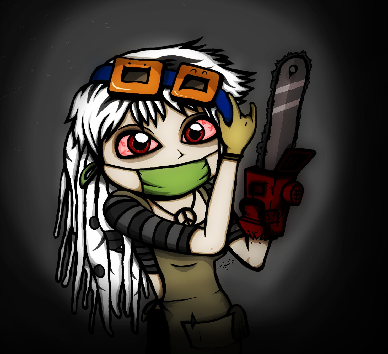 Chainsaw Lady