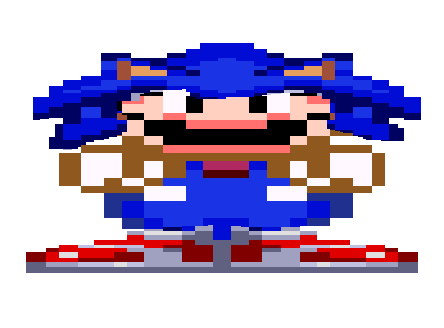 Mario is a Sonic fan?