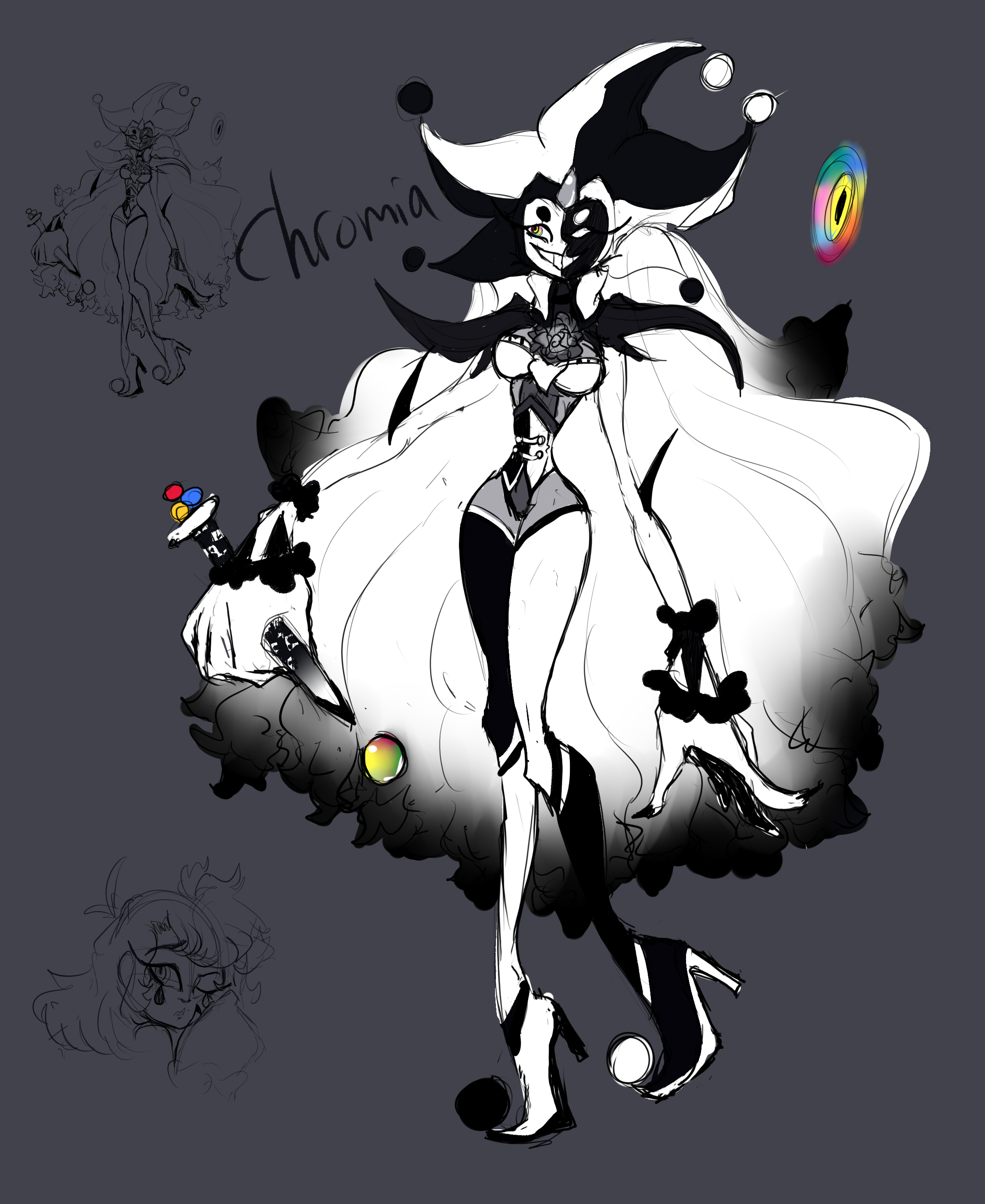 Chromia Reference{Balan Wonderworld Fancharacter}