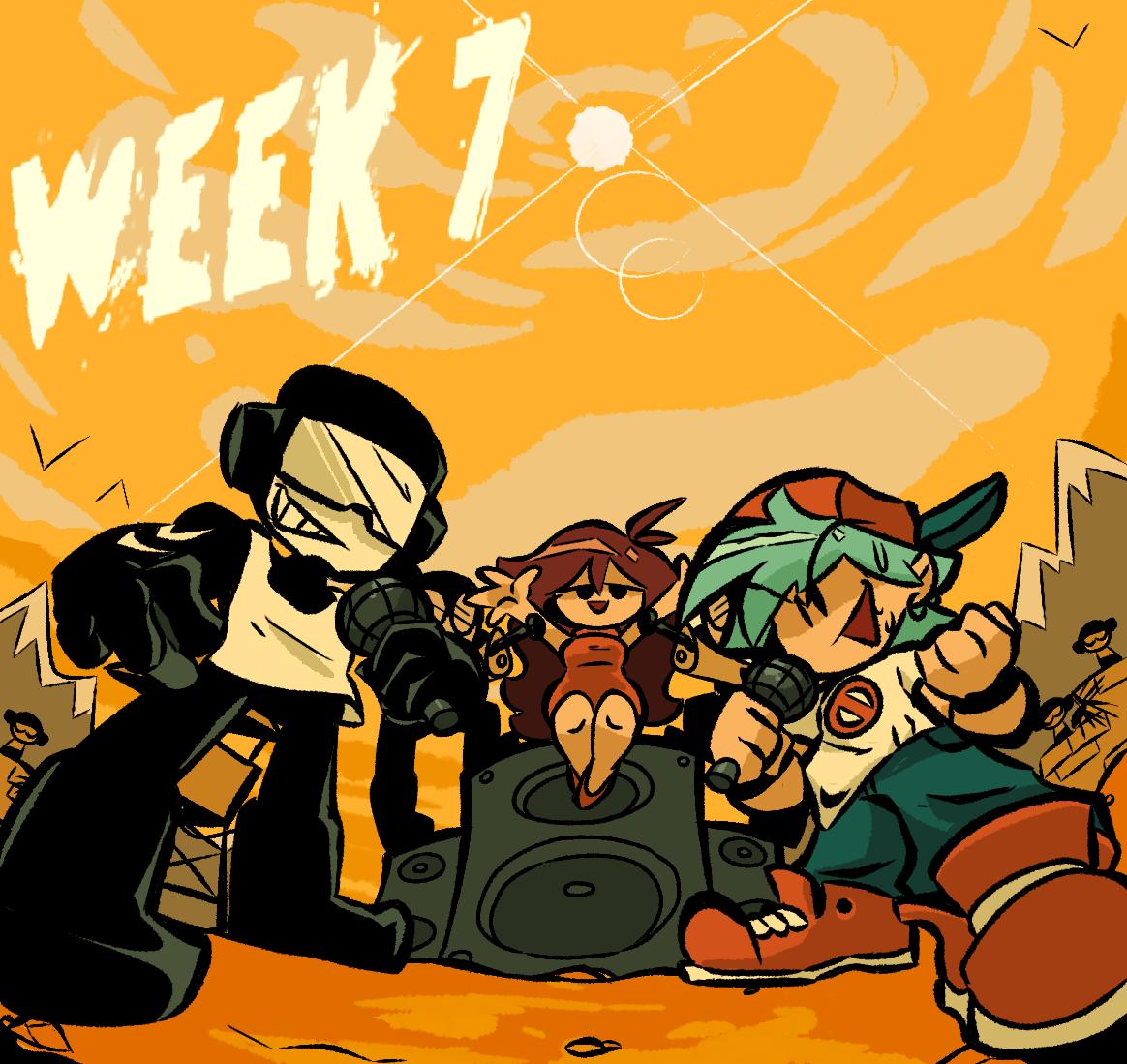 week 7 lets gooo