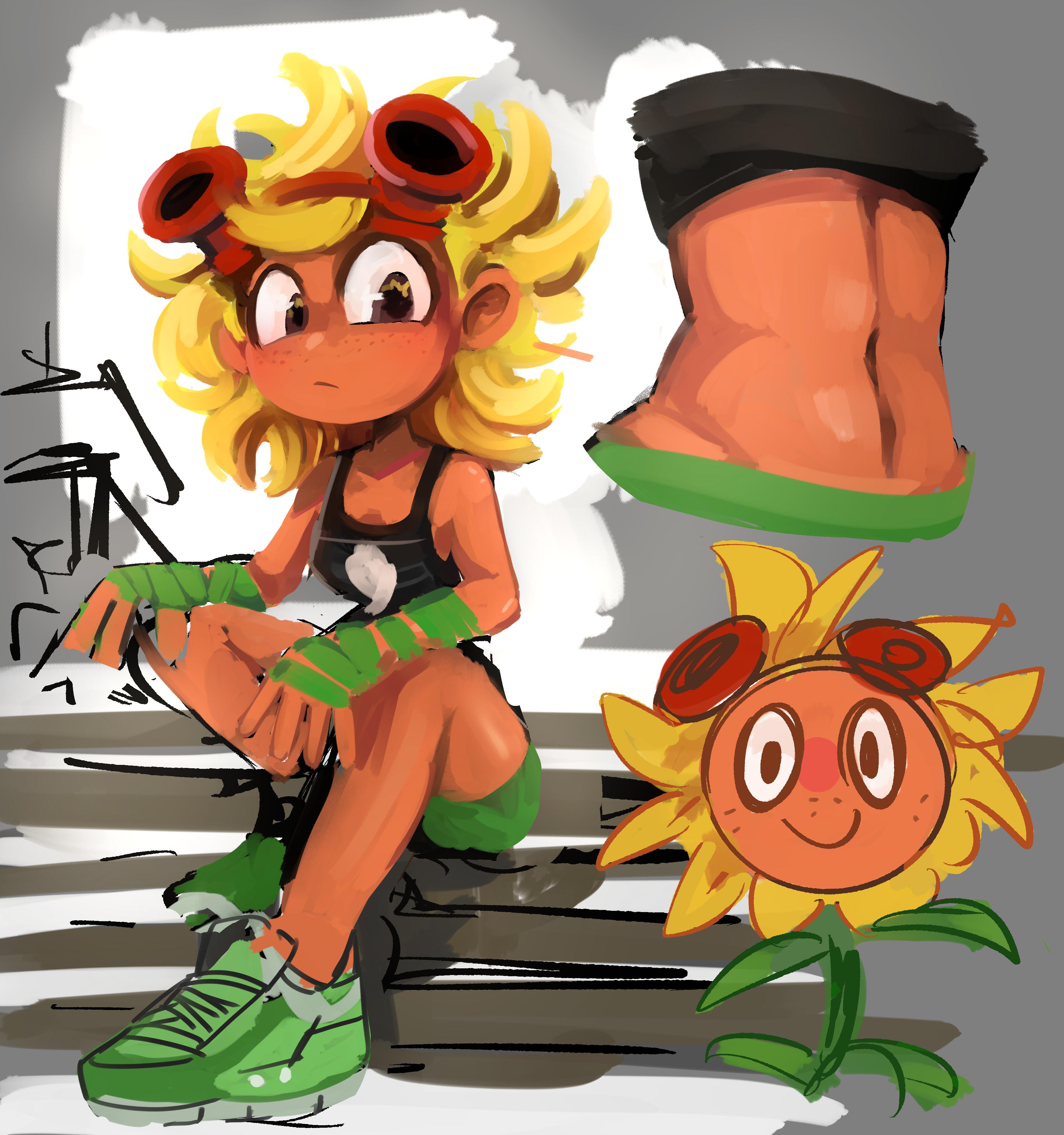 Sunflower Workout