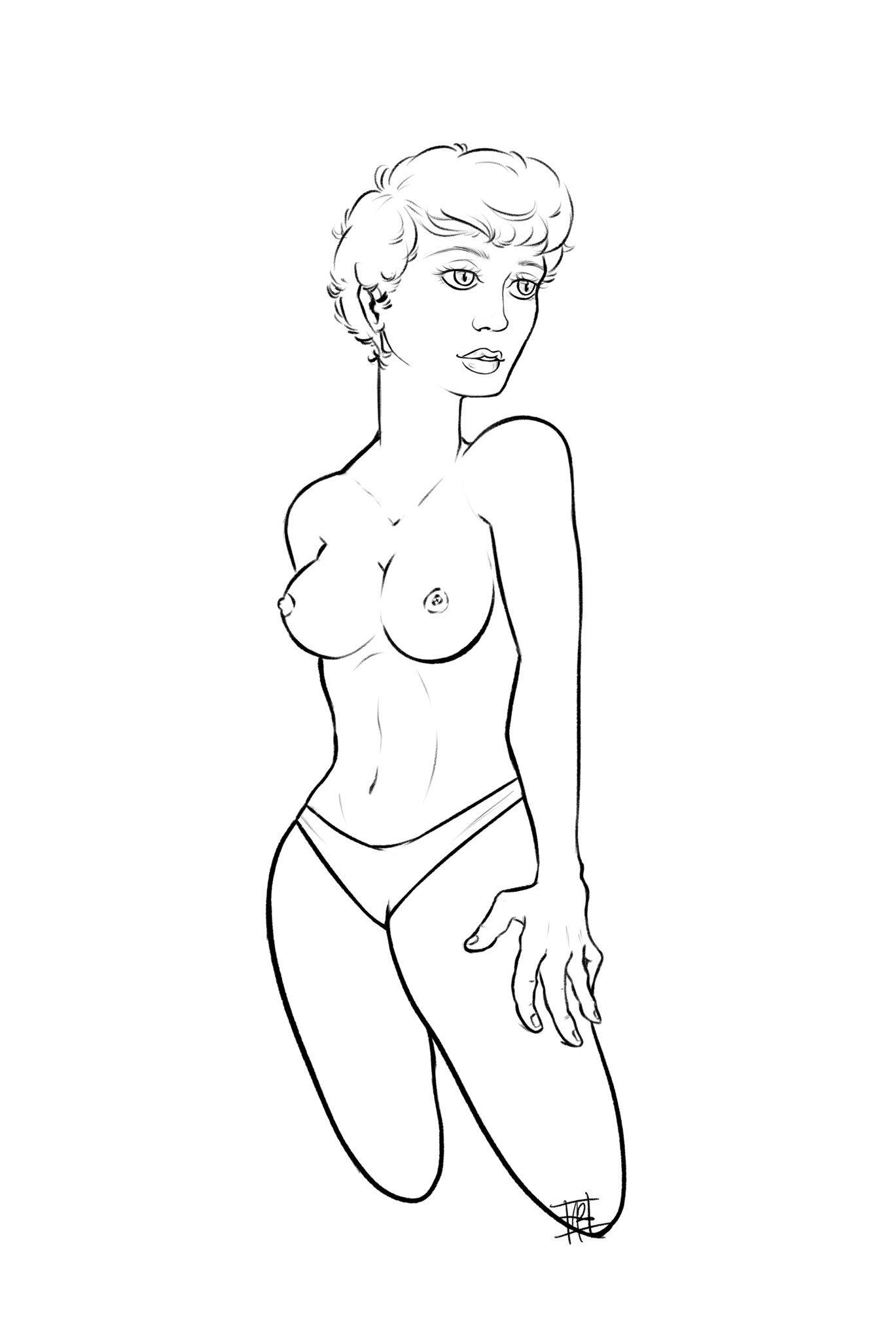 Late Night Drawing