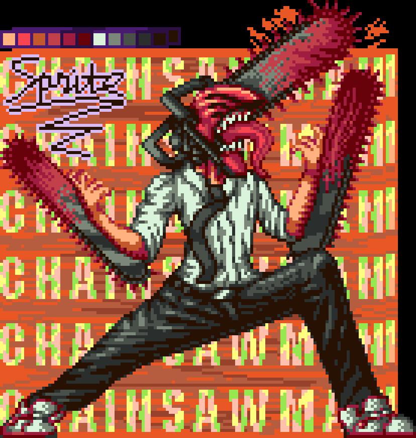 Chainsawman - Pixel Art