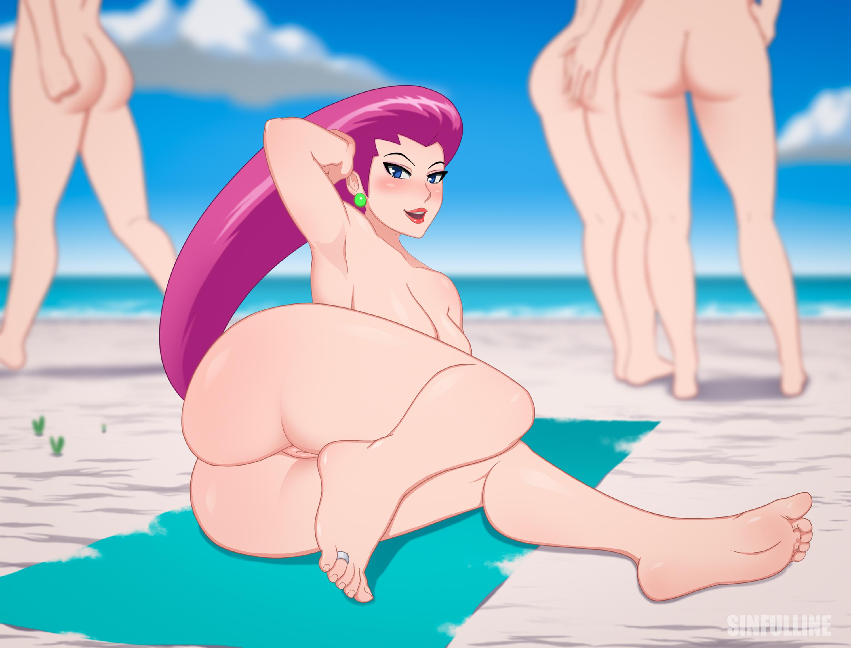 Jessie on the beach