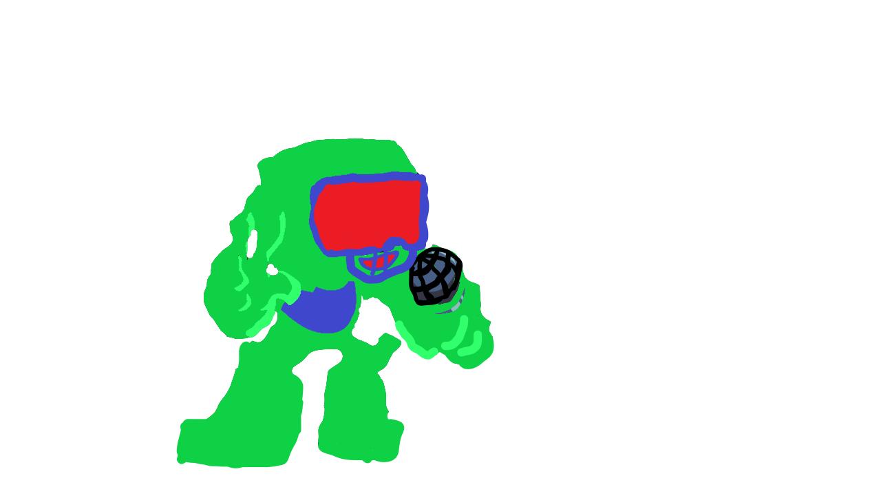 Glitched Tankman