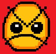 Newgrounds mad face 8bit