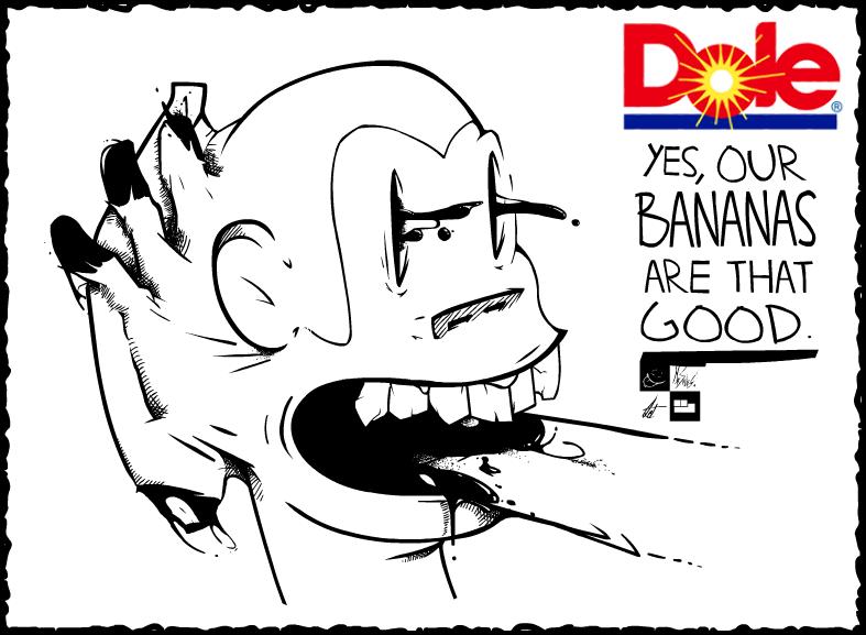 Pseudo-Advert - Dole Bananas