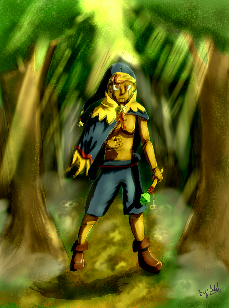 Geno in the rawest forest