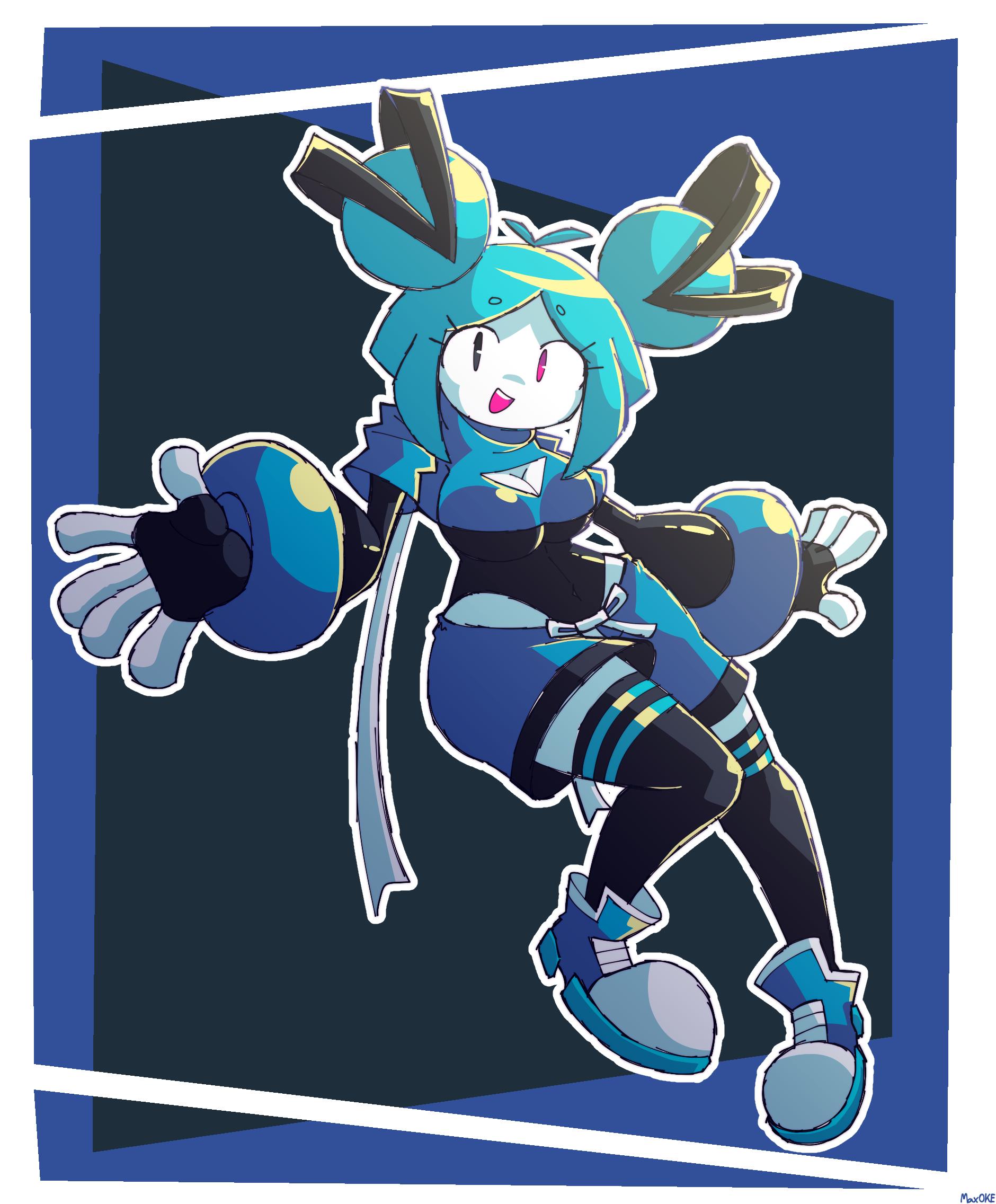 Blue-Chan but built different