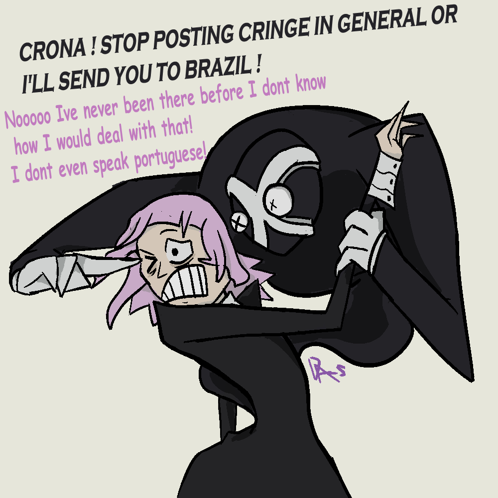 Crona More Like Cringe-a