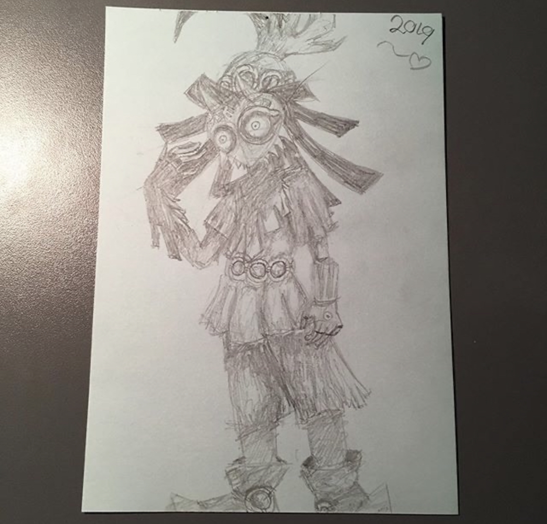 Made this for a friend of mine, from the game Majoras Mask