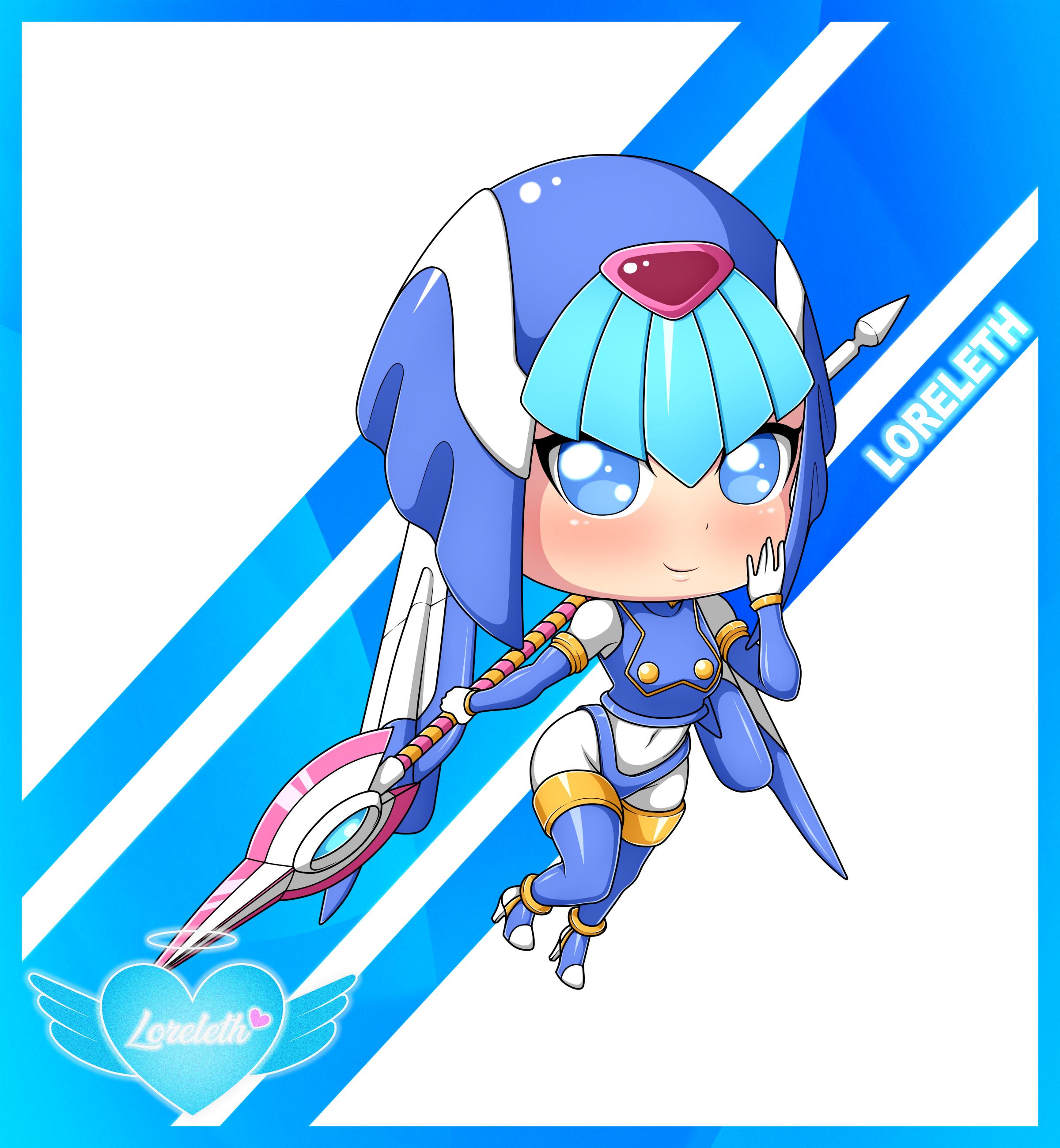 Cute Chibi Girl 39 (Commission)