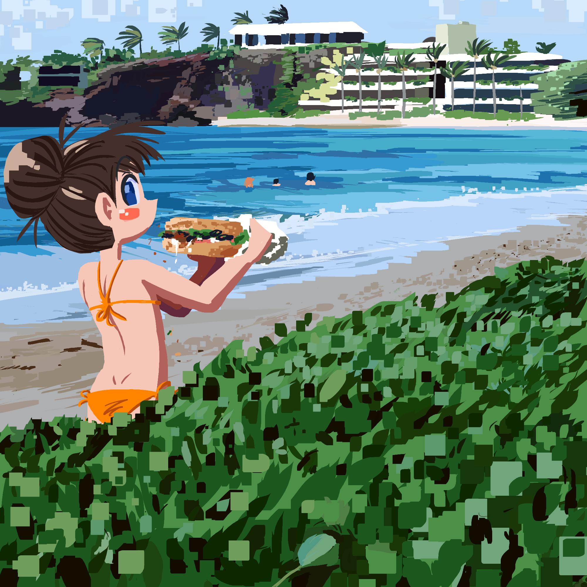 submarine sandwich eater