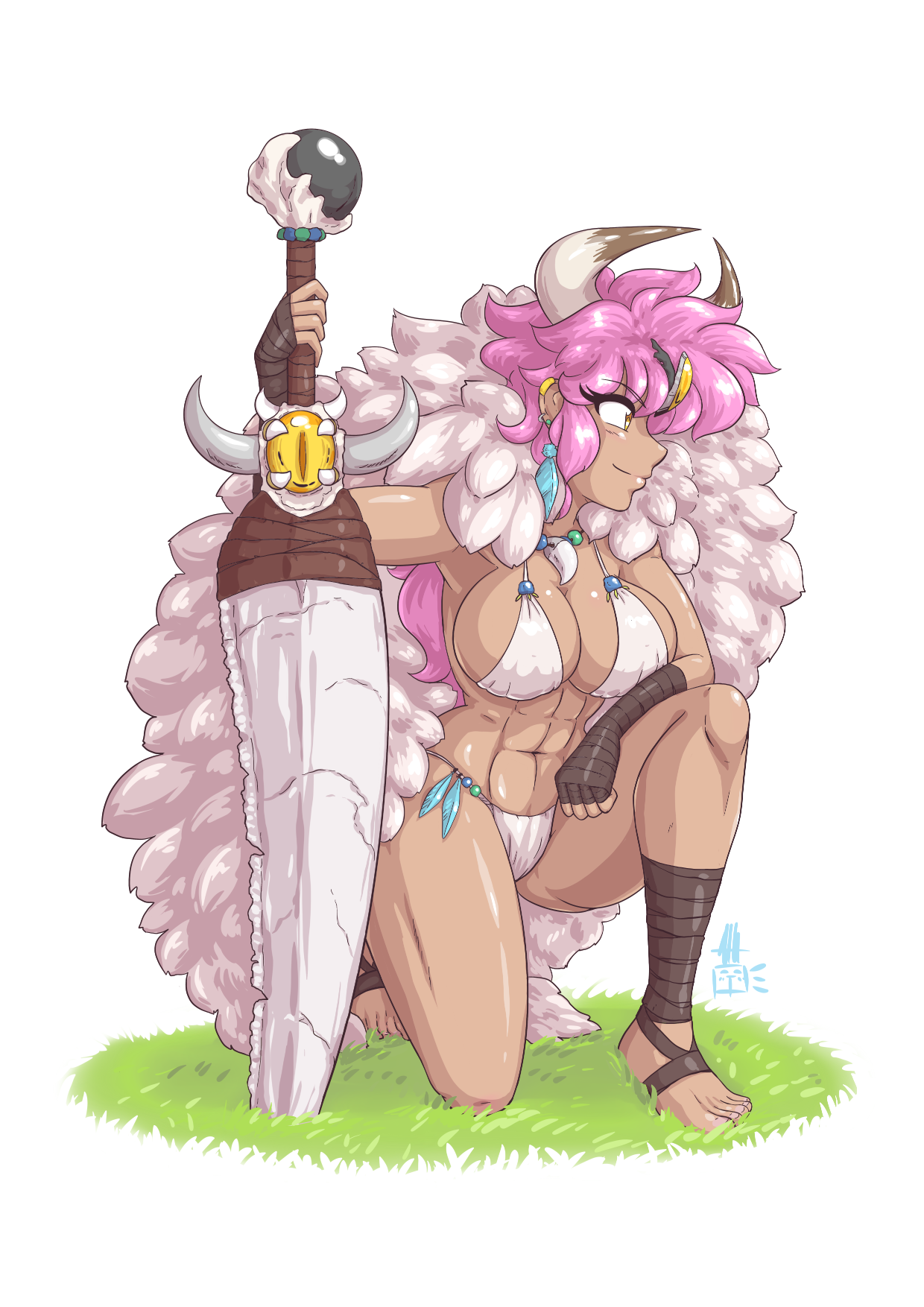 Pink Haired Barbarian