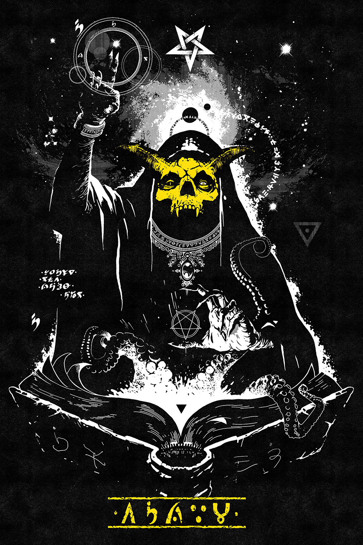 -The Yellow Skull God-