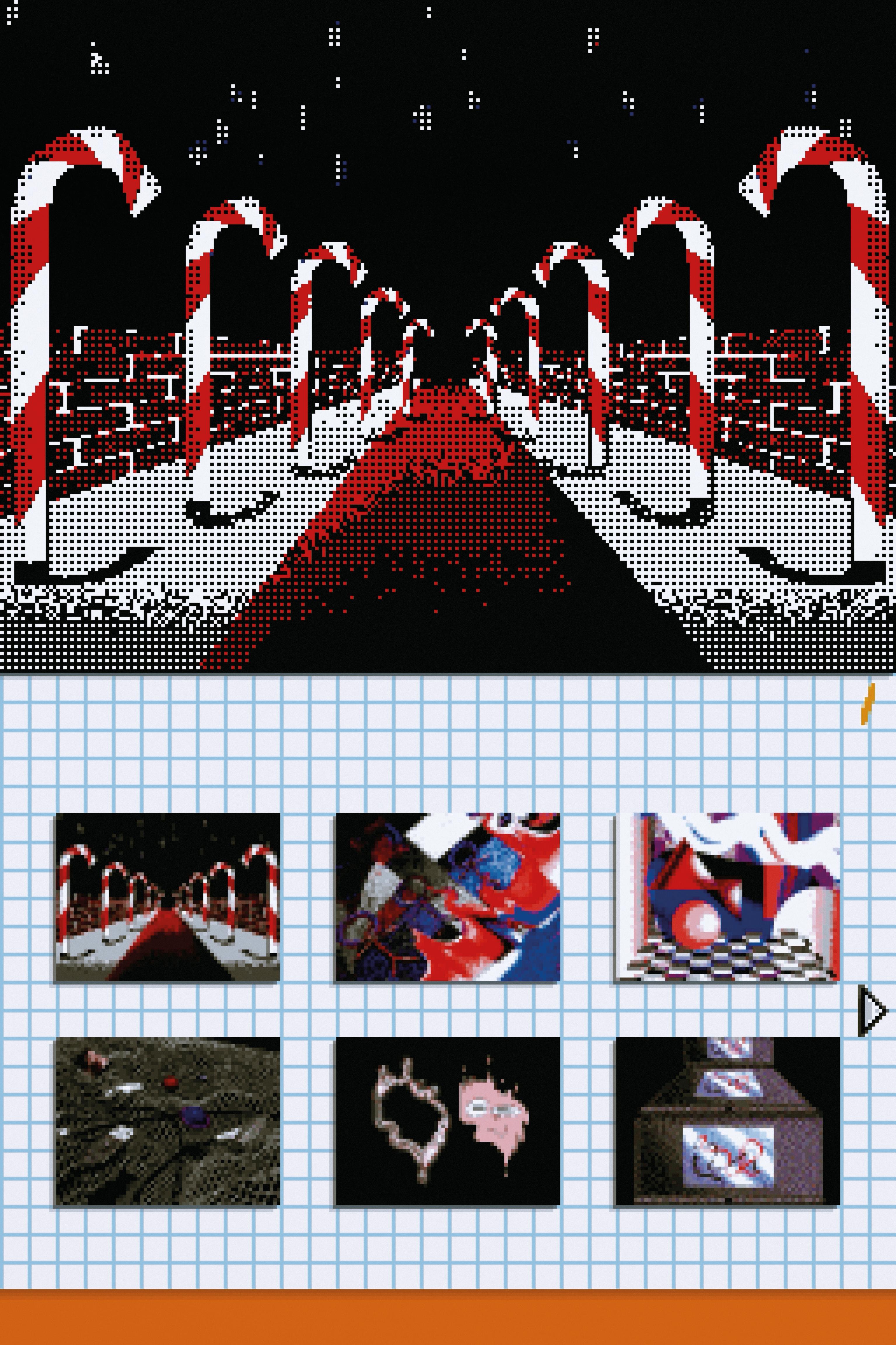 Flipnote DSI GUI Aesthetic