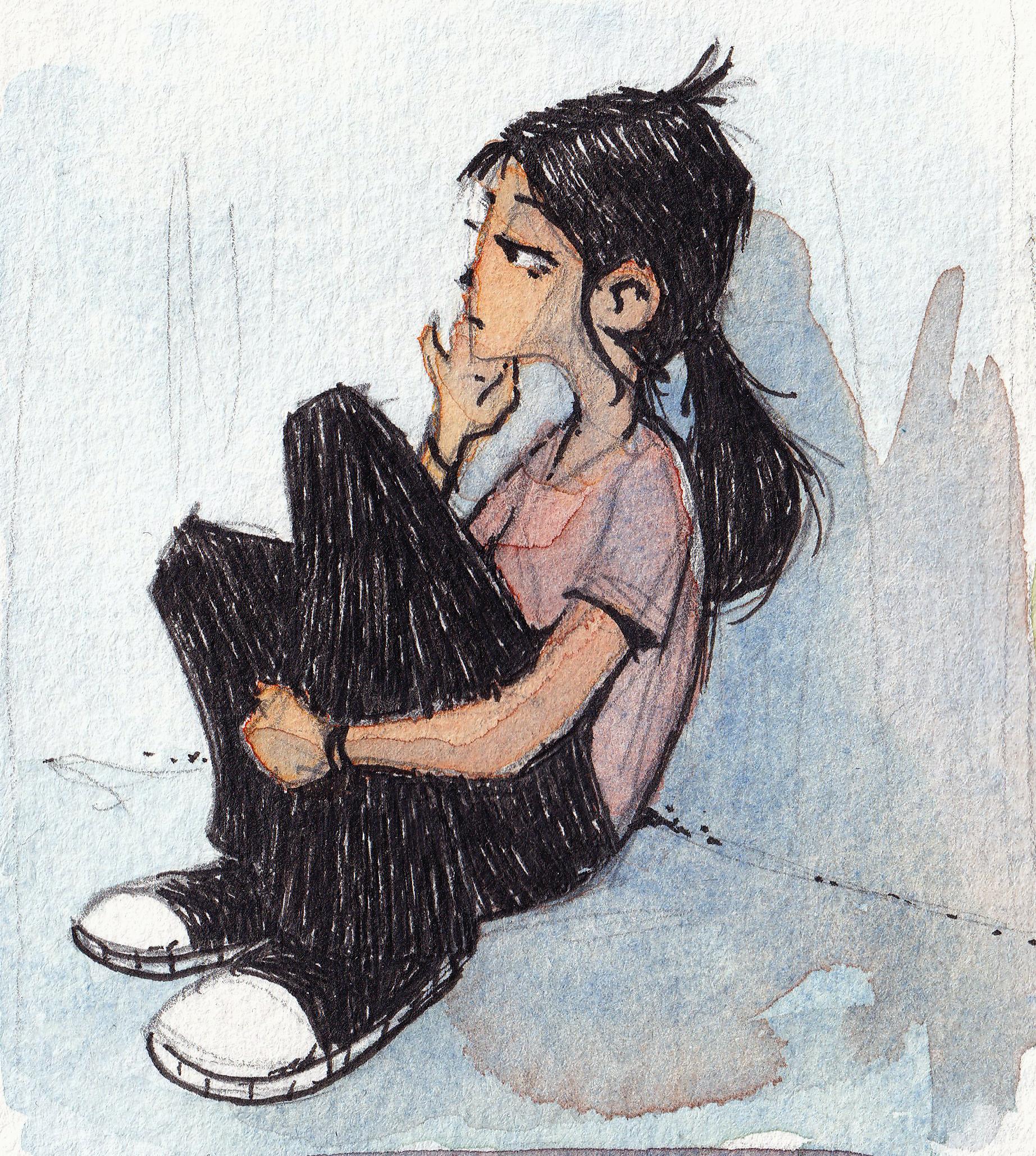 Watercolour Orla